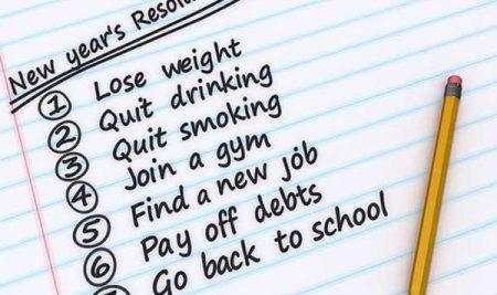 Mỗi ngày một cụm từ: New Year's resolutions