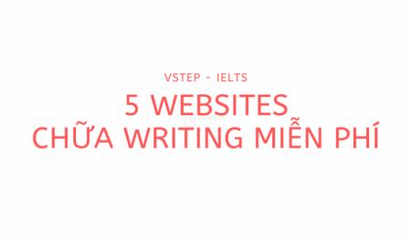 5 trang web giúp bạn chữa Writing miễn phí